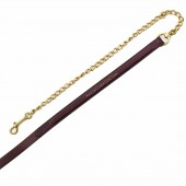 Aramas® Fancy Square Raised Lead with Solid Brass Chain