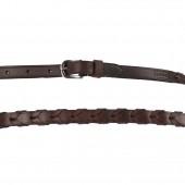 Harmohn Kraft Plain Laced Belt- 1/2 Inch Wide