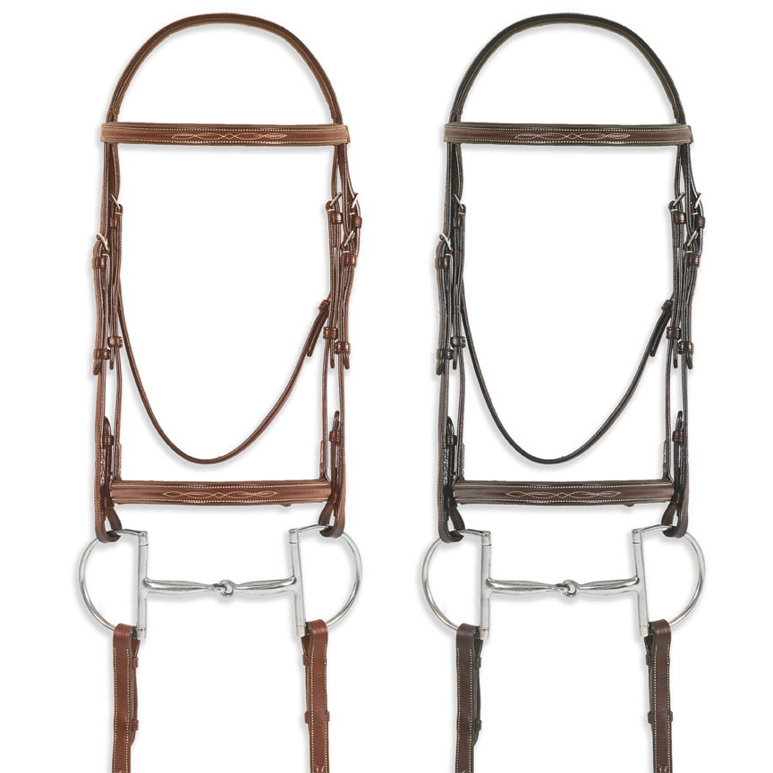 Pessoa® PRO Fancy Stitched Raised Bridle